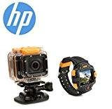 Action Cam 1080P WiFi Caméra full HD pour HP avec puce Ambarella ac300w A7 (même que les caméras GoPro Hero ...