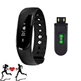 Activité Tracker,SURPHY Sport Bracelet,Commencez Votre Remise en Forme avec ID101 Bluetooth écran 4.0 Tactile Montre Bracelet Podomètre,Fitness Tracker Step Calorie ...