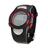 Anself cardiofréquencemètre sportif Pulse exercice podomètre calories Chronomètre Cyclisme