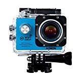 Aokon Sports Caméra d'action cam Wifi Caméra étanche 12m HD 1080p casque de moto vidéo sous l'eau Cam-170° objectif grand ...