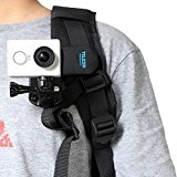 Backpack Clip Support 360degrés Rotary Fast Clamp pour Xiaomi Yi Gopro SJ4000Sony Action Camera