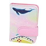 Belle porte sac carte de carte de crédit, 20 emplacements pour cartes, B
