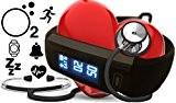 BerryKing Lifepulse plus La pression artérielle, l'oxygène, La fréquence cardiaque, La fréquence respiratoire, sommeil, calories, activité, Cellule fonction perdue, Caméra ...
