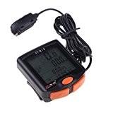 BoGeer Compteur de Vitesse/Odometre de Velo/Bicyclette Capteurs LCD Retroeclaire Impermeable