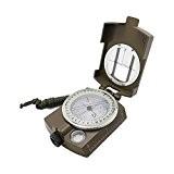 Boussole Militaire de survie - précision avec système de visée - Imperméable et solide / antichoc - Conçue pour la ...