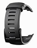 Bracelet silicone pour D4 D4i D4i Novo Suunto - Noir
