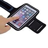 Brassard Sport Running pour smartphone Anti-Sueur et renforcé avec sangle réglable compatible iPhone 6 6S 6Plus 7 7plus Samsung Galaxy ...