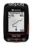 Bryton Rider 330 C - GPS - orange/noir 2016 gps couleur