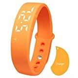 C est W5Fashion Led Smart Watch Sport Saine Tracker Bracelet Podomètre sommeil marches calory Température Moniteur