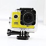 Caméra 4k WIFI sportive et action, Grande angle 16 Mégapixel, étanche