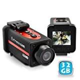 Caméra sport Full HD 1080p grand angle étanche 32 Go