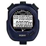 Chronomètre Imperméable à L'eau pour Sport Mesurage des Temps Numérique Minuterie Compteur Horloge 2-lignes de 10 Compte à Rebours D'affichage ...