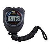 Chronomètre Sports Handheld Professional LCD numérique Sport Chronomètre Compteur Minuteur