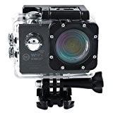 """Cido SJ7000 Caméra Sportif 12MP 2,0"""" Ecran LCD Fonction Wide Angle de 170° Resistant à l'Eau Maximum 30M sous l'Eau ..."""