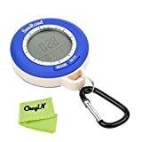 Ckeyin ® Mini LCD multifonction numérique Altimètre Baromètre Thermomètre Boussole Prévision météo et affichage du temps