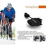 Compteur de Vitesse Tachymètre Vélo OUTAD Sans fil Bluetooth ANT Étanche Vélo Odomètre Vitesse et Fréquence Capteur Chronotachymètre avec APP ...