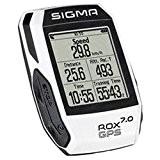 Compteur Kilométrique Sigma ROX GPS 7.0 Blanc 2017