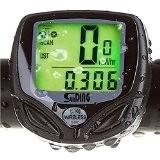Cozyswan Compteur de Vélo LCD Vélo Odomètre sans Fil Rétro-éclairage Ordinateur LCD d'un Vélo