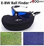 e-bw A99Golf Eagle Eye Lunettes de Golf Ball Finder New avec étui Noir cadre blanc-Livraison gratuite