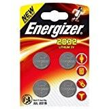 Energizer CR2032piles bouton au lithium-(Lot de 4)