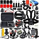 Erligpowht 33-En-1Sports de Plein Air Kit d'accessoires Pour SJ4000 SJ5000 de l'appareil photo numérique et GoPro Hero 4 Hero 3+ ...