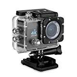 Excelvan Q6 2.0 pouces Action Caméra Sport Caméscope Embarquée 30M Etanche Full HD 4K 16MP 170 degré HD Grand-Angle Wi-Fi ...