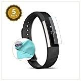 EXINOZ® Fitbit Alta Protecteur d'Écran I Protection Haute Qualité avec 1 an Garantie de Remplacement I Obtenez le meilleur pour ...