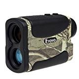 eyoyo 5-700Yard imperméable 6x multifonction Télémètre Télémètre de Golf chasse vitesse moyenne avec serrure de gamme, scan, mât, Brouillard et ...