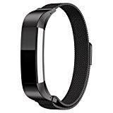 Fitbit Alta Bracelet ,Clode® Steel Band Milanese magnétique Boucle inox pour Fitbit Alta montre Smart Watch