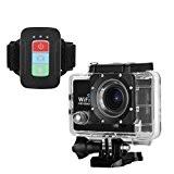 FLOUREON Caméra Sport Action 2.0 Pouces Caméscope Embarquée 30M Étanche Night Vision Full HD 1080P 12 Mega Pixel 170 Degré ...