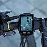 Foxpic LCD Vélo Odomètre Rétro-éclairage Waterproof Sans Fil Bicyclette Compteur Vitesse de Vélo Multi Fonctions