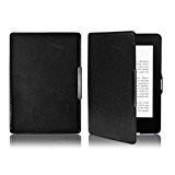 Fulltime® Pour Kindle Paperwhite 5 [Ultra Slim][Poids léger]Housse Smart Case Premium en cuir ultra-mince