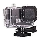 GitUp Gitup Git2 Novatek 96660 1080P WiFi 2K Sport Helemet Caméra avec Un porte-clé (ajouter 30en1 accessoires et Set de ...