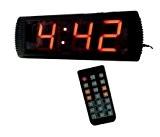 godrelish 10,2cm haute Personnage Géant LED numérique Chronomètre Minuteur Compte à rebours/jusqu'Télécommande IR