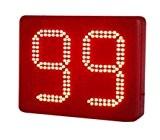 """Godrelish 8 """"2 Digits Lap Counter minuterie LED secondes semi-extérieur Countdown / up Timer LED IR Télécommande minuterie numérique"""