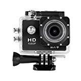 GreatCool Action Caméra Étanche Casque De Vélo Caméra WiFi 12MP HD 1080P 2.0 inch LCD 170 Degrés Drand Angle avec ...