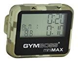 Gymboss miniMAX Minuteur d'intervalle et chronomètre - CAMOUFLAGE / SOFTCOAT TAN