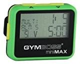 Gymboss miniMAX Minuteur d'intervalle et chronomètre - Coque Vert / Jaune softcoat
