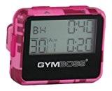 Gymboss Minuteur d'intervalle et chronomètre - LUSTRE COQUE ROSE CAMOUFLAGE / ROSE