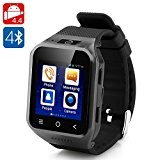 High-Tech Place High-Tech Place ZGPAX S8 Android 4.4 Watch Phone (Black)