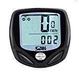 Hmeng Ordinateur de vélo sans fil original Sport Cyclisme Écran LCD rétroéclairé Odomètre Vélo Cycliste vitesse multi fonction Accessoires pour ...