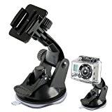 Holder pour GoPro support HERO 2/3 caméra sport embarquée voiture auto noir