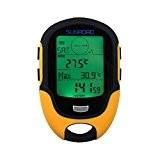 Home Care De® Multifonction Altimètre Baromètre Boussole numérique pour sports en extérieur (Sunroad modèle fr-500)
