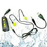 HuaDun Nouveau Design Waterproof Sport Lecteur MP3 Lecteur de musique imperméable 4GB IPX8, Écoutez votre musique tout en nageant / ...
