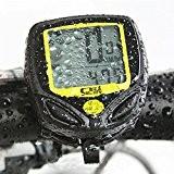 IDEALEBEN Cyclisme Ordinateur de vélo Imperméable Vélocimètre Odomètre mise en route automatique Mesure de vitesse