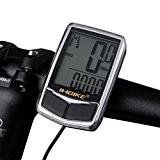 INBIKE Compteur de Vélo Imperméable 17 Fonctions avec Rétroéclairage