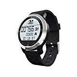 IPUIS Montre Intelligente Smart Watch Étanche Bluetooth 4.0 Podomètre, Sport, Nager, Fréquence Cardiaque de Mesure de sommeil pour IOS et ...