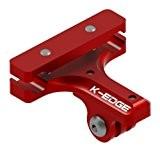 K-Edge GO BIG Fixation Rails de Selle Pro pour caméra GoPro et appareil photo Rouge