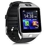 kivors® dz09Bluetooth Smart Watch avec insert Appareil photo pour poignet montre téléphone SIM Support anti-perte Rappel d'appel Message notification Carte ...