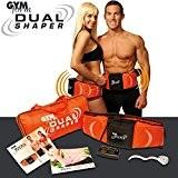 L'original Dual Shaper - Le must des appareils de musculation pour les abdominaux ou les cuisses - Ceinture amincissante avec ...